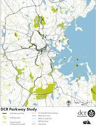 Mbta Bus Map by Dcr Parkways Study Archboston Org