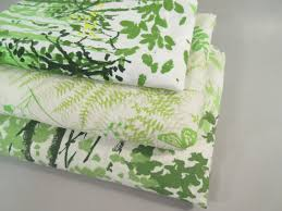 Dragonfly Bedding Queen Vintage Queen Sheets With One Case Vera Fern Sheets Green Sheets