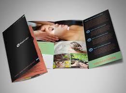 hair salon u0026 spa brochure template mycreativeshop