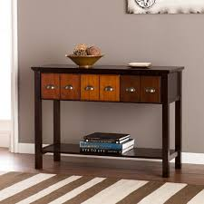 Storage Console Table by Sei Hendrik Apothecary Console U0026 Reviews Casa Details