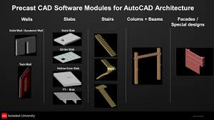 precast concrete industry extensions for autodesk revit