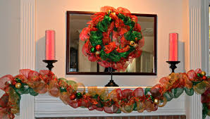 how to decorate christmas garland with ribbon rainforest islands