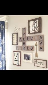 Home Decorating Ideas Living Room Walls Best 25 Name Wall Decor Ideas On Pinterest Family Collage Walls