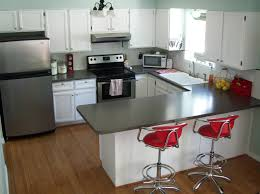 dark green and grey painting kitchen countertops ideas 2654