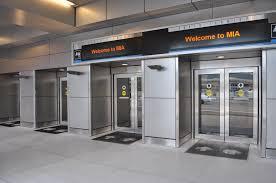 glass doors miami miami international airport projects dash door