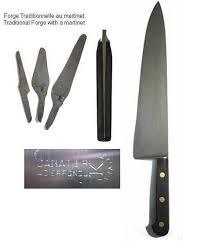 carbon kitchen knives knives canadian 13 in cooking knife carbon antique sabatier k