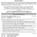 Sample Event Planner Resume by Event Planning Resume Event Coordinator Assistant Resume