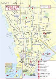 tourist map of new york best map of nyc major tourist attractions maps