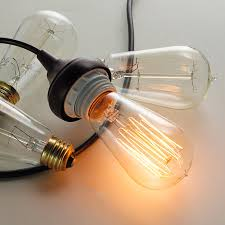 60 watt vintage edison a light bulb shades of light