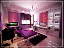 Bedroom Design Purple And Grey Cute Curtain Design For Girls Bedroom Aida Homes Pretty Purple Bed