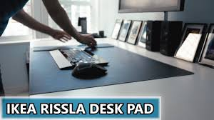 giant mouse pad for desk a gigantic ikea rissla mouse pad the beginning of desk setup 2