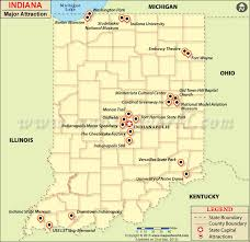 Maps update 800774 indiana tourist attractions map indiana