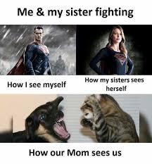 Sister Meme - dopl3r com memes me my sister fighting how i see myself how