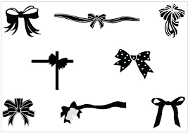 black and white ribbon clip black and white ribbon clipart kid cliparting