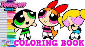 powerpuff girls coloring book blossom bubbles buttercup ppg