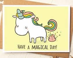 Unicorn Birthday Meme - birthday cards etsy uk
