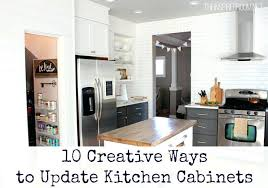Best Way To Update Kitchen Cabinets How To Fix Ugly Kitchen Cabinets In A Rental Plasterboard Updating