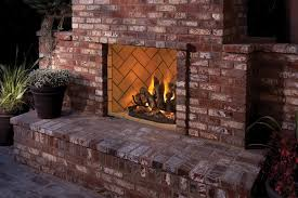 two sided gas fireplace indoor outdoor the differences of indoor