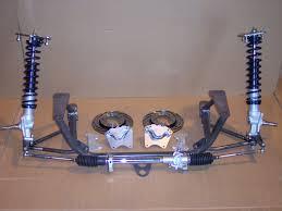 mustang struts 79 93 mustang spindle mount front suspension kit kid race
