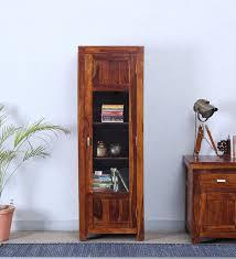 Honey Oak Bookcase Buy Bernwicke Book Case In Honey Oak Finish By Amberville Online