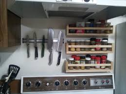Under Cabinet Knife Holder by Magnet Knife Holder With Stainless Steel Bar Material And Corner
