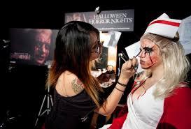 map of halloween horror nights 2012 sneak a peek at the makeup behind universal u0027s halloween horror