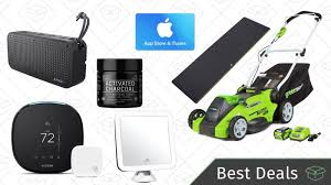 best deals on gift cards monday s best deals smart thermostat waterproof speaker itunes