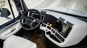 freightliner trucks 2015 freightliner inspiration truck interior youtube