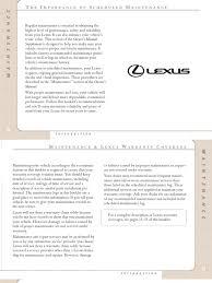 lexus warranty paint lexus lx 470 maintenance pdf steering brake
