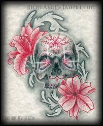 skull flower richland ms richland ms tattoos