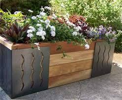 Raised Flower Bed Corners - inside urban green m brace raised bed planter