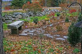 artistic landscapes com blog granite bench with stepping stone path