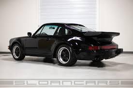 porsche coupe black 1989 porsche 911 turbo coupe black 23 687 miles sloan cars