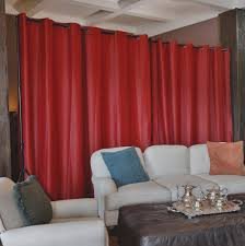 roomdividersnow premium heavyweight room divider curtains top