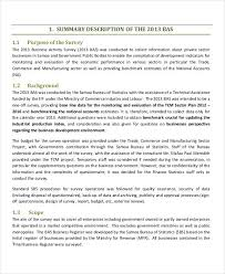 statistical report template templates for statistical reports