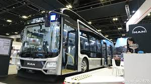 concept bus sitce 2016 3 door concept man nl323f a22 gemilang youtube