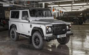 new land rover defender concept helping to build the two millionth land rover defender