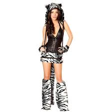 Cat Halloween Costumes Adults Buy Wholesale White Tiger Halloween Costumes China