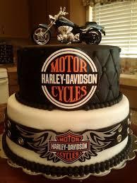 motorcycle birthday cake ideas best 25 harley davidson cake ideas