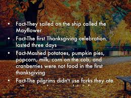 why was thanksgiving first celebrated first thanksgiving by sophia ledesma