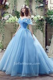 fairytale wedding dresses fairy tale gown the shoulder blue organza corset wedding