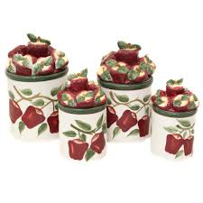 Red Kitchen Canisters Sets 100 Rooster Kitchen Canisters 100 Rooster Kitchen Canister