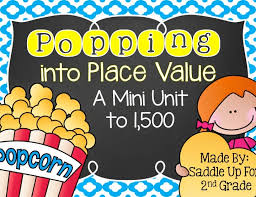 popping into place value saddle up for second grade