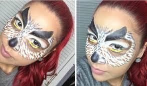 makeup artist halloween owl mask halloween makeup tutorial youtube