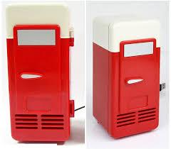 hardly any noise mini usb powered fridge cooler for beverage drink