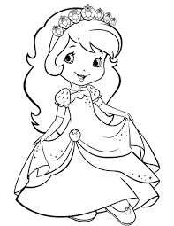 strawberry shortcake coloring page halloween coloring pages free