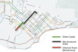 Sbcc Campus Map Santa Barbara Adopts Bicycle Master Plan After Months Of Outreach