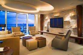 Divine Living Room Design Ideas With Exposed Stone Wall Style - Divine design living rooms