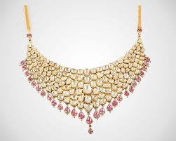 gold necklace with stones images J k j sons jewellers the rising media jpg