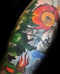 50 colorado tattoos for men rocky mountain design ideas